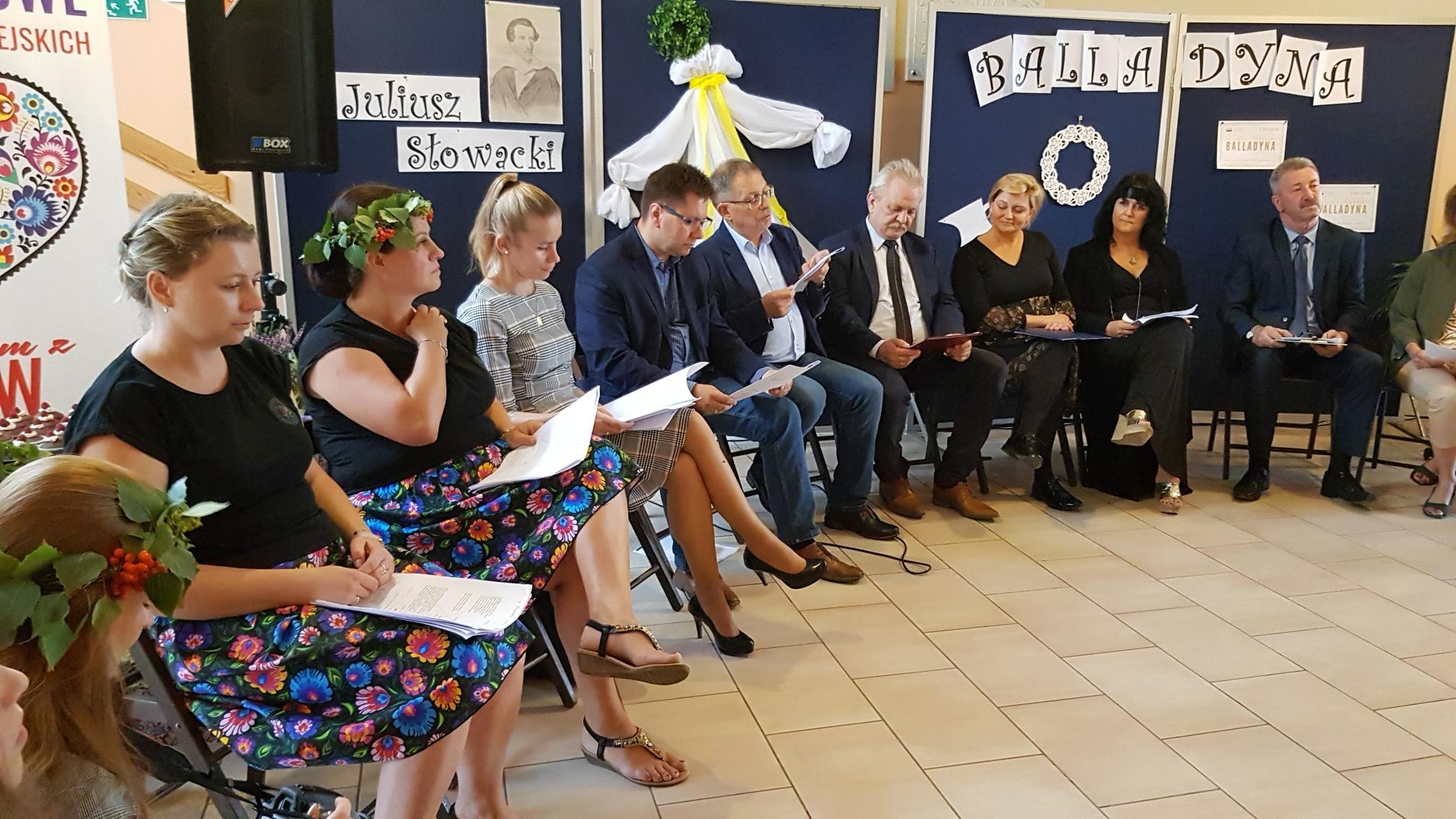Akcja Narodowe Czytanie 2020 w Zespole Szkół w Starym Luboszu