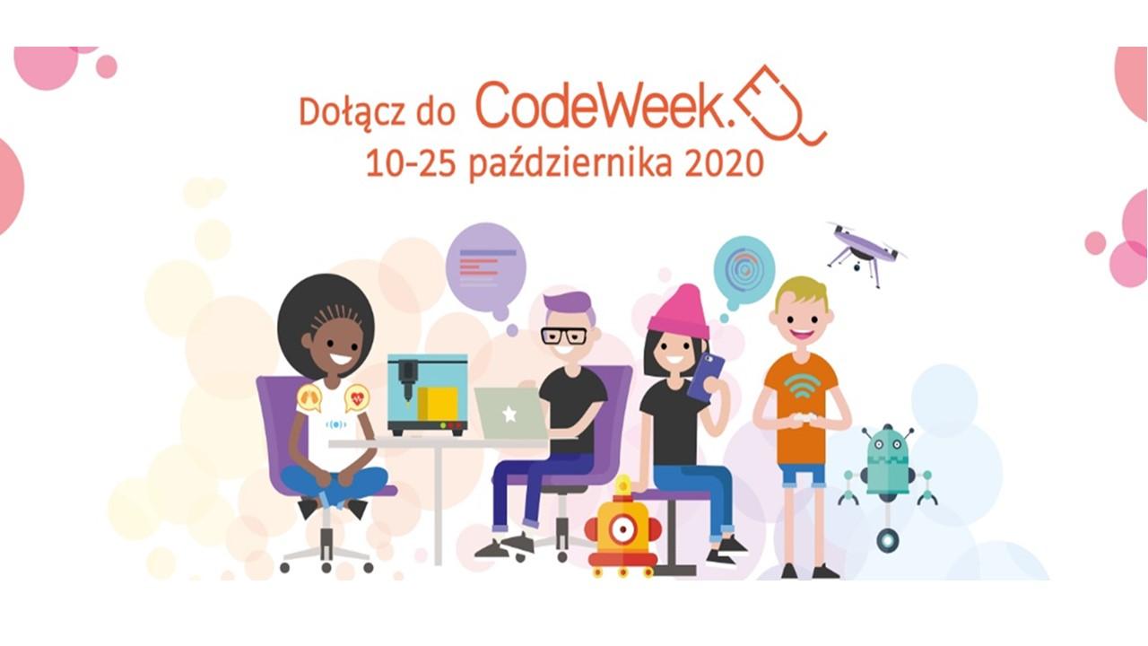 CodeWeek, czyli Europejski Tydzień Kodowania.