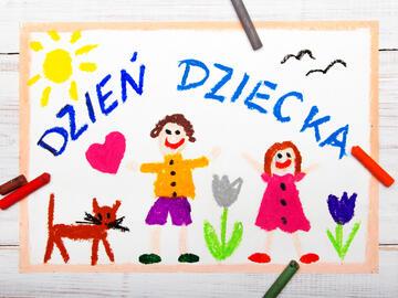 Dzień Dziecka 2021 w klasach 1-3 w szkole w Starym Luboszu
