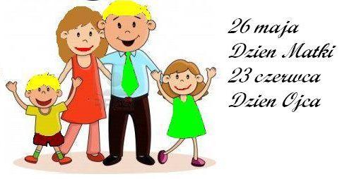 Dzień Matki i Dzień Ojca w klasie 2a